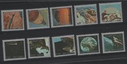 AST 194 - UM AL QIWAIN Série De 10 Val. Neufs** Mini Timbres Conquête De L'espace - Umm Al-Qiwain