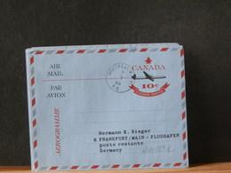 A11/887AC  AEROGRAMME  CANADA  1966 - Poste Aérienne