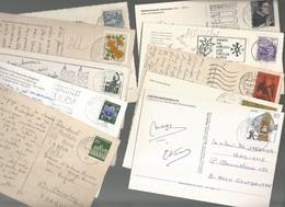 CPSM, Autriche- Allemagne  , Lot 1,de 50 Cartes Timbrées Cartes Semi-Modernes Et Modernes - Autres - Europe