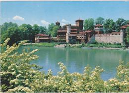 Torino-castello Medioevale - Castello Del Valentino