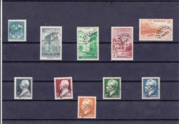 Monaco - Préoblitérès - 1943/1951 - N° YT 1 à 10** - Monaco