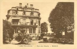 54 NANCY - LES TILLEULS - RUE DES GLACIS - Nancy