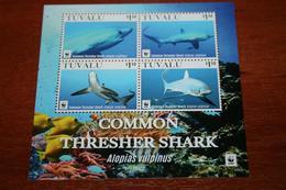 WWF Tuvalu 2016 Rare Block  Fishes - Sin Clasificación