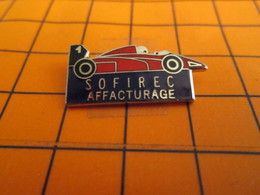513a Pin's Pins / Beau Et Rare  / THEME AUTOMOBILES : F1 FORMULE 1 SOFIREC AFFACTURAGE - F1
