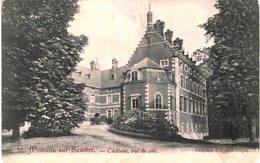 MONCEAU-SUR-SAMBRE   Château Vue De Coté. - Momignies