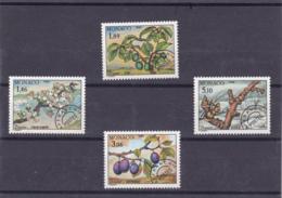Monaco - Préoblitérès - 1990 - N° YT 106 à 109** - Monaco