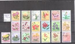 Ruanda Urundi  N° 177/95 * * MNH ( Cote COB : 45,00 € ) Les Fleurs. - 1948-61: Neufs