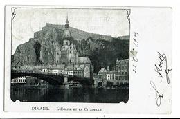 CPA-Carte Postale-Belgique-Dinant- Eglise Et Citadelle--en 1903 VM13368 - Dinant