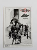 Carte Postale LIBERATION Journal Sans Papier Avec Humanité Et Coeur J. Louis Debré - Français