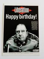 Carte Postale LIBERATION Journal Extradition De Pinochet - Francese
