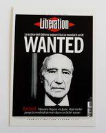 Carte Postale LIBERATION Journal Wanted Maurice Papon En Fuite - Francese