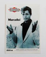 Carte Postale LIBERATION Journal Décès De  Marcello MASTROIANNI - Francese