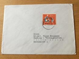 K8 BRD 1957 Brief Von Nürnberg - BRD