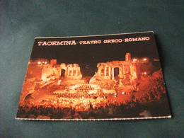 TEATRO GRECO ROMANO TAORMINA DURANTE SPETTACOLO NOTTURNO MESSINA - Teatro
