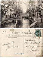 L' ISLE SUR SORGUES -Quai Du Midi - Cachet : Avignon A Miramas   (118028) - L'Isle Sur Sorgue