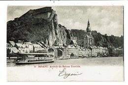 CPA-Carte Postale-Belgique-Dinant-Arrivée Du Bateau Touriste -1902 VM13373 - Dinant