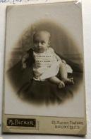 Foto Op Hard Karton   Jeanne Dekoker Geb.18/11/19 - Anciennes (Av. 1900)