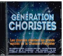 Génération Choristes - Les Chorales Chantent Les Grands Succès De La Chanson Française Format : CD - Disco & Pop