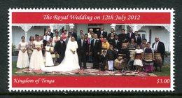 Tonga 2012 Royal Wedding MNH (SG 1662) - Tonga (1970-...)