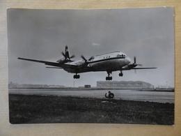 AIRLINE ISSUE / CARTE COMPAGNIE     INTERFLUG      IL 18  DM-ST? - 1946-....: Era Moderna