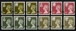 Gran Bretaña Nº 1718/29 Nuevo. Cat.28,50€ - Unused Stamps