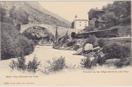 Chemin De Fer Viège-Zermatt Près De VISP - VS Wallis
