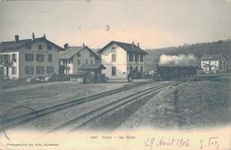 J53 - SUISSE - YENS - La Gare - VD Waadt
