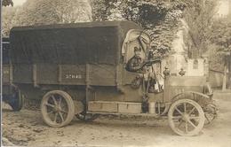 CPA Automobile Camion 1917-1918 Carte Photo - Transporter & LKW