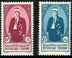Siria Francesa Nº 264/5 Nuevo. Cat.6,96€ - Unused Stamps