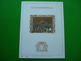 Luxe Kunstblad Met Gouddruk 23 Karaat - Cartes Souvenir