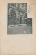 PARIS- UNION CHRETIENNE DE JEUNES GENS DE PARIS - 14 RUE DE TREVISSE (AVEC CACHET HOPITAL AUXILIAIRE N° 35) - Distrito: 09
