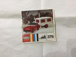 LEGO SYSTEM MANUALE DI ISTRUZIONI N.379. - Catalogs