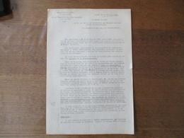 LILLE LE 24 JUILLET 1941 LE PREFET F.CARLES BUREAU DEPARTEMENTAL DES CHARBONS VENTE AU CARREAU COMMUNES DE LA REGION MIN - Documents Historiques
