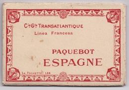 "CARNET Paquebot ""Espagne"" 10 CARTES - Paquebots"