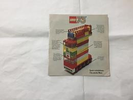 LEGO  CATALOGO DEPLIANT 1973. - Catalogs