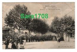 05 GAP, Arrivée Du 17ème Détachement De GAFSA, Avenue D'Embrun. Pas Fréquente. ( VOIR SCAN ). - Gap