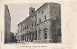 RIPATRANSONE - PALAZZO DEL PODESTA' - Ascoli Piceno