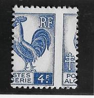Algérie N°222 - Piquage à Cheval - Neuf * Avec Charnière - TB - Algérie (1924-1962)