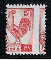 Algérie N°220 - Piquage à Cheval - Neuf * Avec Charnière - TB - Algérie (1924-1962)