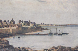 Illustrateurs - Eugène Bourgeois - Bretagne - Port-Navalo - Artist - Bourgeois
