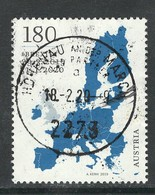 Oostenrijk, Mi   Jaar 2020, Uitgifte Februari, Hoge Waarde,  Prachtig Gestempeld - 2011-... Oblitérés