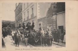 Blois - Obsèques De Monseigneur  Laborde -  ( Très Animée )  - Scan Recto-verso - Blois
