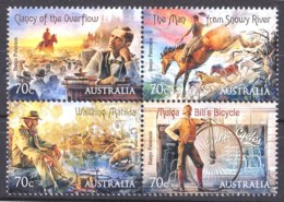 Australia 2014 Bush Ballads Block Of 4 MNH - Mint Stamps