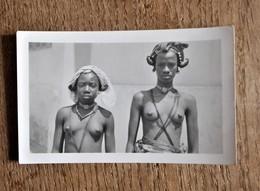 Photographie : Bustes De 2 Jeunes Femmes (africaines ?) - Afrique
