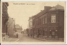 MOUSTIER-sur-SAMBRE - Rue De La Glacerie (animée) - Jemeppe-sur-Sambre