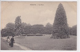 92 SCEAUX  Le Parc ,femmes Avec Panier - Sceaux
