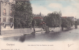 CPA Charleroi - Vue Prise Du Pont De Sambre (en Aval)  - 1903 - Charleroi