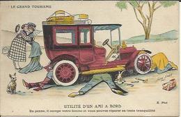 Le Grand Tourisme , UTILITE D'UN AMI A BORD , Illustrateur : Xavier SAGER - Sager, Xavier