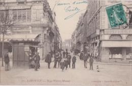 Bv - Les Rares Cpa De LORIENT - Rue Victor Massé (vente Sur 7 Jours) (Coll. Paris Morbihan) - Lorient