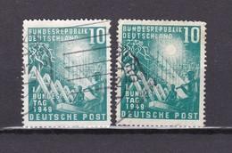 BRD - 1949 - Michel Nr. 111 - Gest. - 40 Euro - BRD